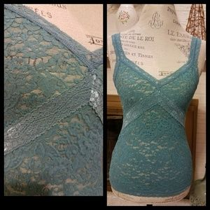 The Limited Lace Cami Tank Top Small S
